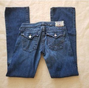 True religion bootcut long Jean's hi rise boot 28